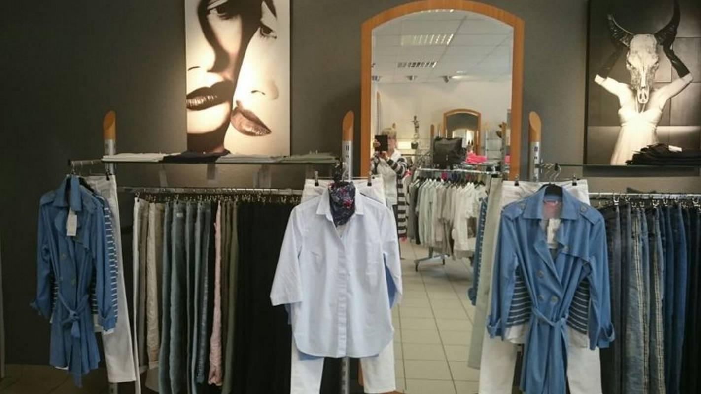 Top Mode für modebewusste Damen bei belmod - mode mit fantasie in Korb.