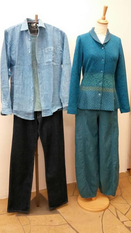 Mode für Sie und Ihn aus reinen Naturstoffen - zu finden beim S'Hääs in Tübingen.